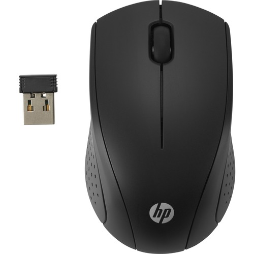 HP 2.4 GHZ BLACK WIRELESS MOUSE U.S.ENG LOCL