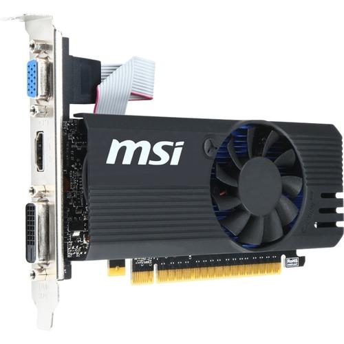 MSI Video Card N730K-2GD5LP/OC GT730 2GB DDR5 OC 64Bit PCI-Express DVI-D/HDMI/VGA Low Profile Retail