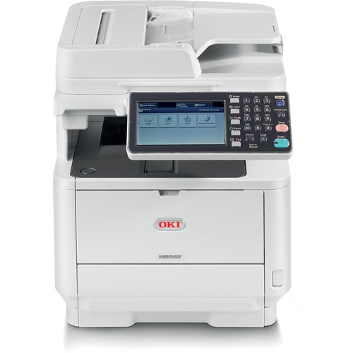 Oki MB562W LED Multifunction Printer   Monochrome   Plain Paper Print   Desktop