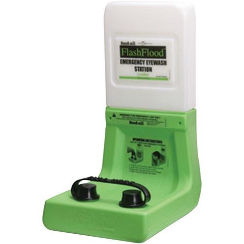 "Honeywell Eyewash Station - English - 3.79 L - 0.05 Hour - 20"" (508 mm)14"" (355.60 mm) - Green"