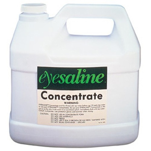 Honeywell Sperian Saline Concentrate - English/French (Canada) - 5.10 kg - 4 / Case