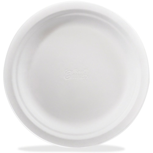 """Royal Chinet Royal Chinet Flower-leaf Plates - 6"""" (152.40 mm) Diameter Plate - 250 Piece(s) / Pack"""