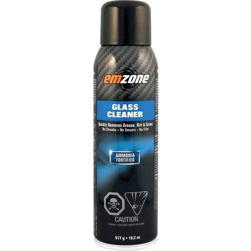 Emzone Glass Cleaner Spray - Spray - 517 g - 1 Each