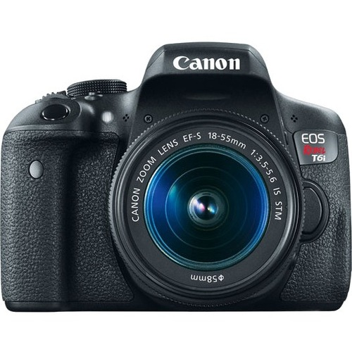 Canon EOS Rebel T6i 24.2 Megapixel Digital SLR Camera with Lens - 18 mm - 135 mm