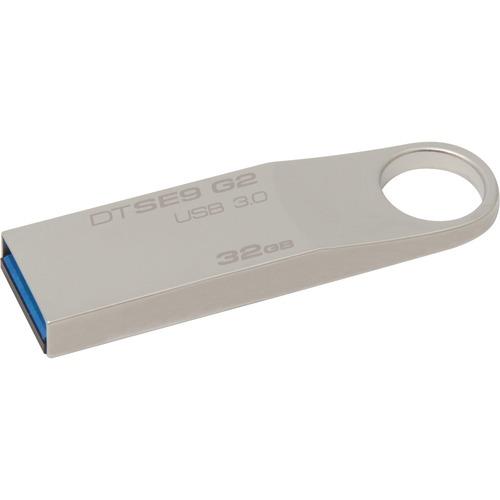 Kingston DataTraveler SE9 G2 32 GB USB 3.0 Flash Drive - Silver