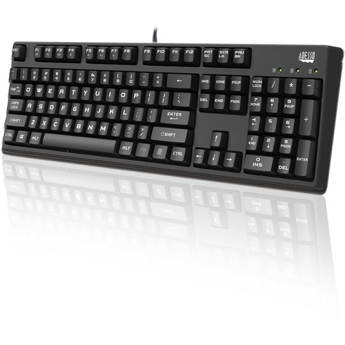 Adesso EasyTouch 635 - Full Size Mechanical Gaming Keyboard
