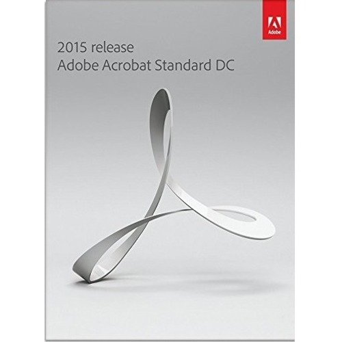 Adobe Acrobat 2015 Standard DC - Box Pack (Upgrade) - 1 User