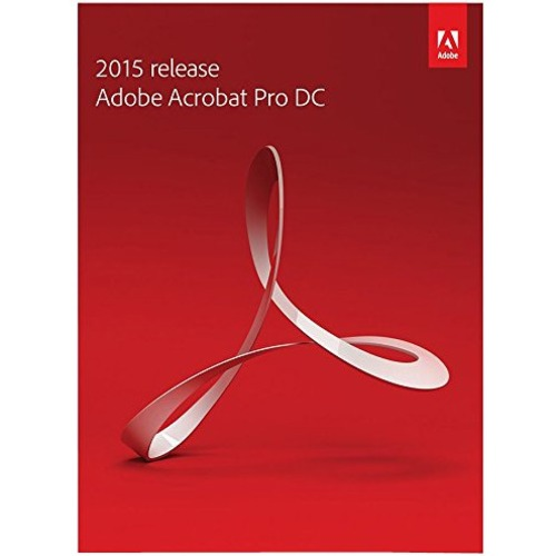 Adobe Acrobat 2015 Pro DC - Box Pack (Upgrade) - 1 User