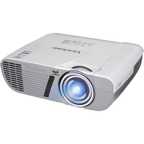 Viewsonic LightStream PJD6552LWS 3D DLP Projector | 720p | HDTV | 16:10