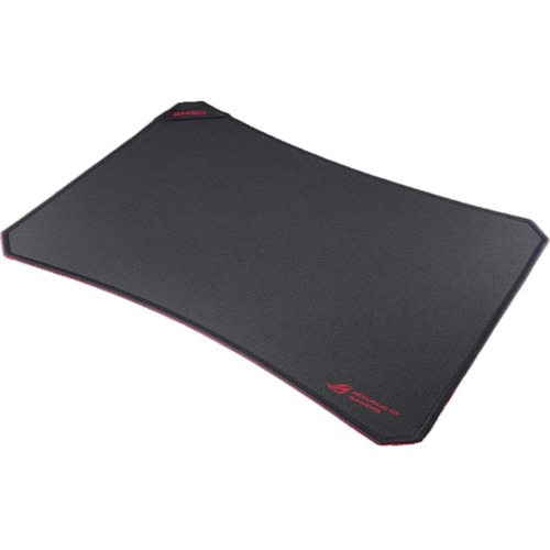 ROG GM50 Mouse Pad - ROG Eye Logo/Textured - 380 mm Dimension - Red, Black - Fabric, Rubber - Friction Resistant, Fray Resistant