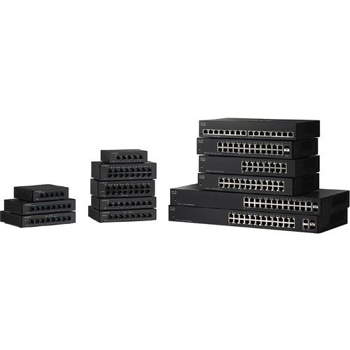 Cisco SF110D-16-NA 16 Port 10 100 Switch