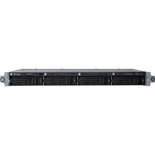 Buffalo TeraStation WS5400RRS2 4 x Total Bays NAS Server - Rack-mountable - 1 x Intel Atom D2700 Dual-core 2 Core 2.13 GHz - 16 TB HDD - 4 GB RAM DDR3 SDRAM - Seri
