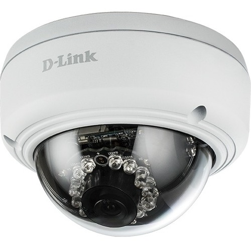 D-Link DCS-4602EV Network Camera - Colour - 1920 x 1080 - Cable - Dome