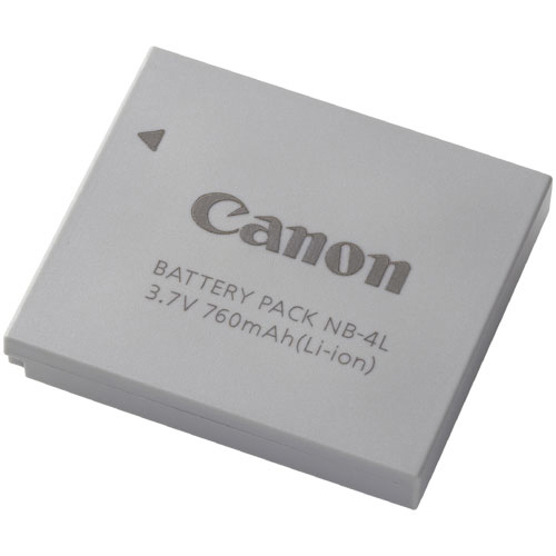 Canon NB-4L Rechargeable Camera Battery