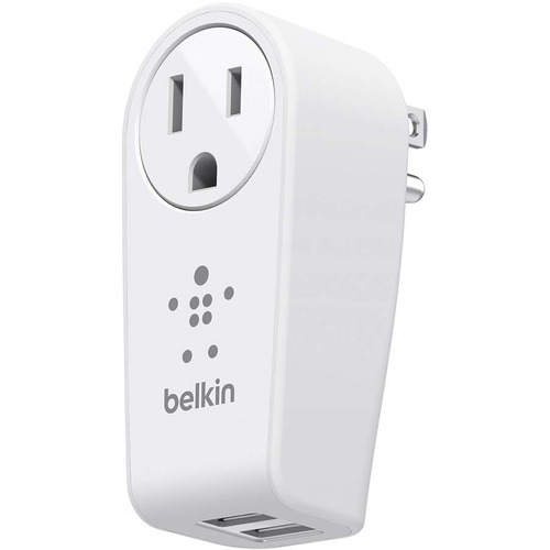 Belkin BOOST↑UP 2-Port Swivel Charger + Outlet