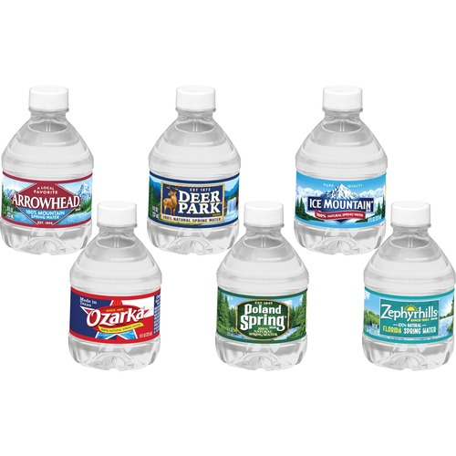 Deer Park Natural Spring Water 8 Fl Oz 237 Ml Bottle 48 Carton Advance Office Janitorial Supplies