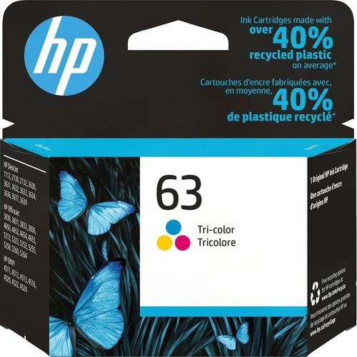 HP 63 Ink Cartridge | Tri-color