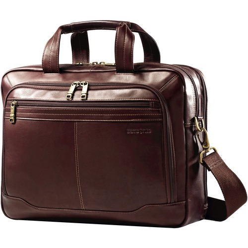 Samsonite Columbian Leather 15.6 Laptop Toploader