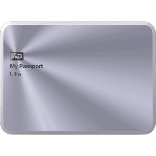 WD My Passport Ultra Metal Edition 3TB USB 3.0 portable hard drive Silver