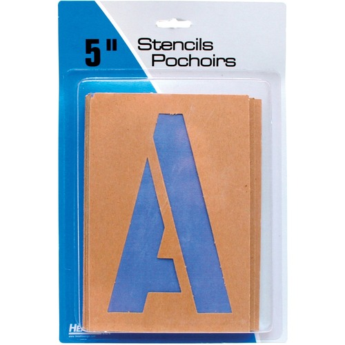 """Headline 5"""" Letters & Numbers - 5"""" (127 mm) - Gothic - Capital Letter, Number - Clear"""