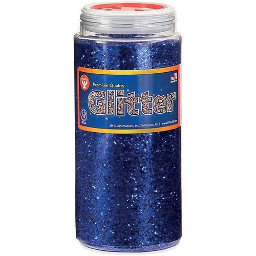 Hygloss Glitter - 453.6 g - Blue