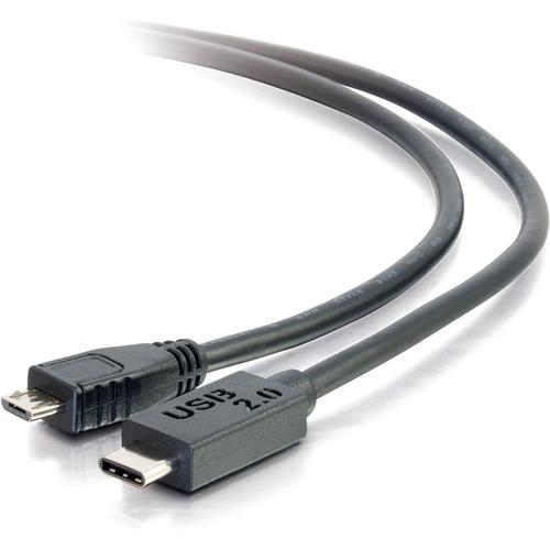 C2G 6FT USB 2.0 TYPE C TO MICRO B