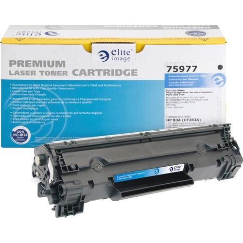 Elite Image Remanufactured Toner Cartridge - Alternative for HP (83A)