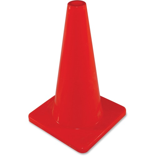 """Impact Products 18"""" Safety Cone - 1 Each - 10"""" (254 mm) Width - Cone Shape - Orange"""