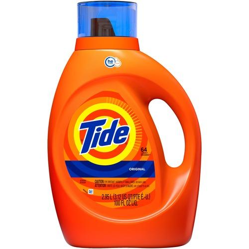 Tide Liquid Laundry Detergent - Liquid - 99.8 fl oz (3.1 quart) - Original Scent - 1 / Bottle - Orange