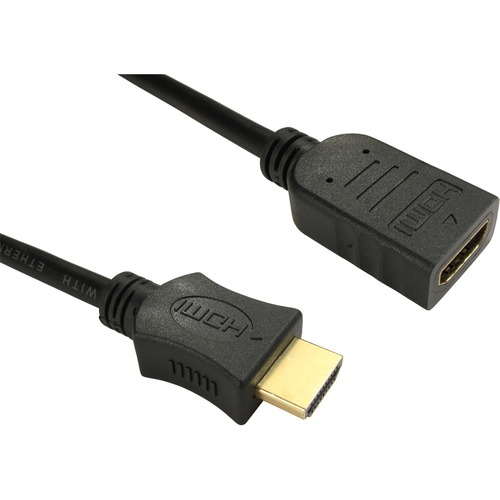 Cables Direct HDMI Cable - 1 m - 1 x HDMI Type A Male - 1 x HDMI Type A Female