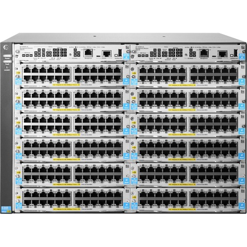 HP 5412R zl2 Manageable Switch Chassis