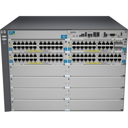 HP E5412-92G-PoE Manageable Switch Chassis