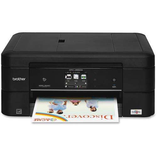 Brother Work Smart MFC-J885DW Inkjet Multifunction Printer | Color | Plain Paper Print | Desktop