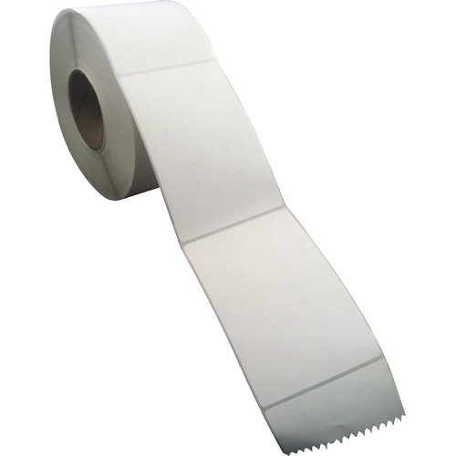 """Sparco Direct Thermal Labels - 4"""" Width x 6"""" Length - Rectangle - Direct Thermal - White - 4000 Total Label(s) - 4000 / Carton"""