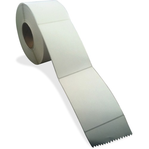 """Sparco Thermal Transfer Labels - 4"""" Width x 6"""" Length - Rectangle - Thermal Transfer - White - 4000 Total Label(s) - 4000 / Carton"""