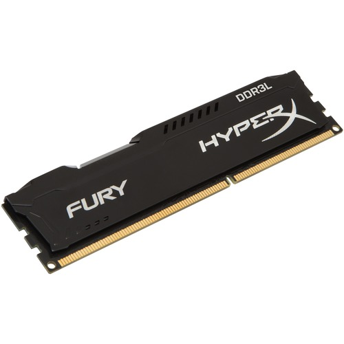 Kingston HyperX Fury RAM Module - 8 GB 1 x 8 GB - DDR3L SDRAM - 1600 MHz - 1.35 V