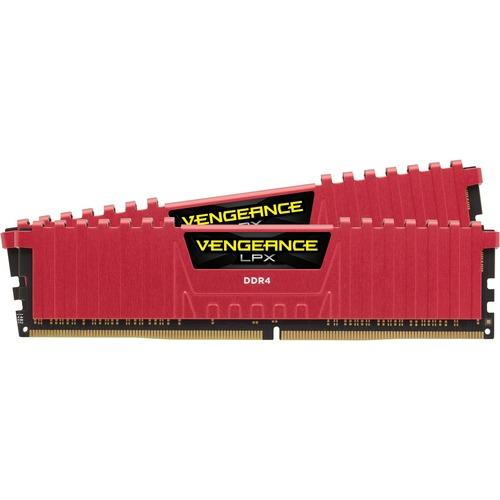 Corsair Vengeance LPX Red 8GB 2x4GB DDR4 PC4-24000 3000MHz Dual Channel Kit Skylake