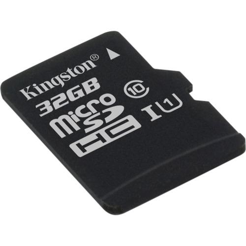 32GB microSDHC Class 10 UHS-I 45R Flash Card Single Pack w/o Adapter