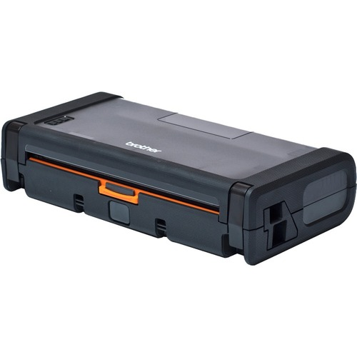 """PJ7 Rugged Roll Case with Decurling Mechanism: Easy drop in loading, holds standard 2.13"""" diameter rolls, mountable, IP54 protection, drops up to 1.3 meters."""