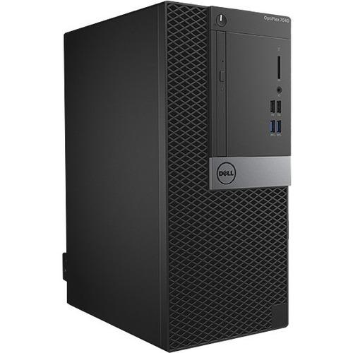 Dell OptiPlex 7040 Desktop Computer | Intel Core i7 | 8 GB DDR4 SDRAM | 1 TB HDD | Windows 7 Professional | Mini-tower | Black