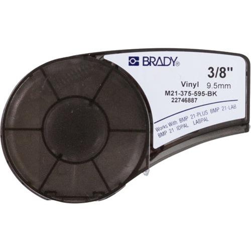 Brady Label Cartridge for BMP21 Series, ID PAL, LabPal Printers, Black