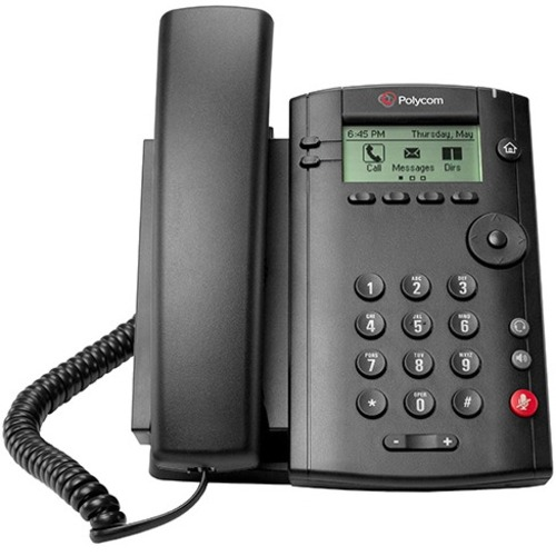 Polycom VVX 101 IP Phone | Cable | Desktop, Wall Mountable