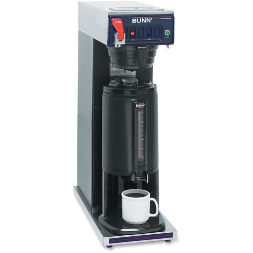 BUNN Thermal Server Coffee Brewer - 1450 W - 4 Cup(s) - Multi-serve - Stainless Steel