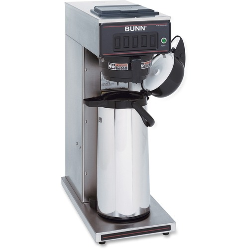 BUNN Airpot Coffee Brewer - 1450 W - Stainless Steel, Black