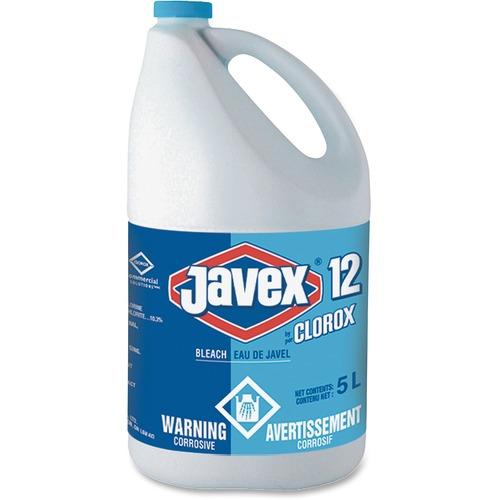 Clorox Javex 12 Bleach - Ready-To-Use Liquid - 169.1 fl oz (5.3 quart) - Bottle - 1 Each - Clear