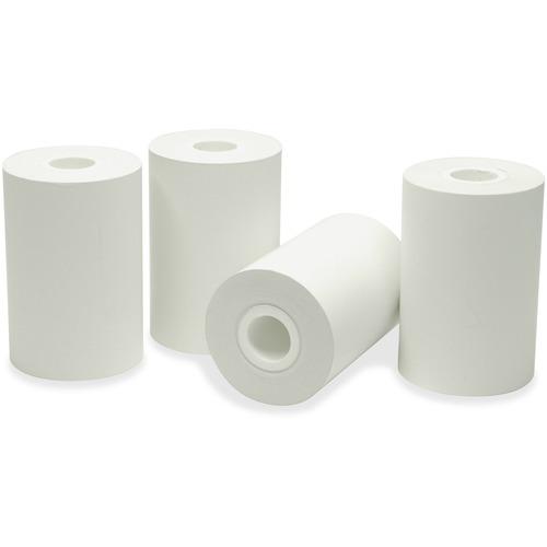 """NCR Cash Register Roll - White - 2 1/4"""" x 60 ft - 100 / Carton"""