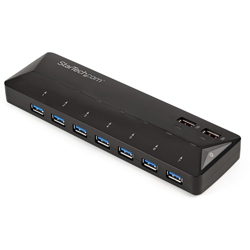 Add seven USB 3.0 (5Gbps) ports to your computer plus fast-charge two mobile dev