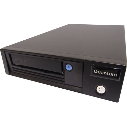 Quantum LTO-7 Tape Drive - 6 TB Native/15 TB Compressed - Black - 6Gb/s SAS - 1/2H Height - External