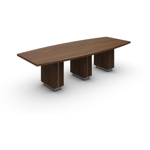 """Global Zira Z48120BE Conference Table - 120"""" x 48"""" x 29.5"""" , 1.5"""" Table Top - Finish: Winter Cherry"""