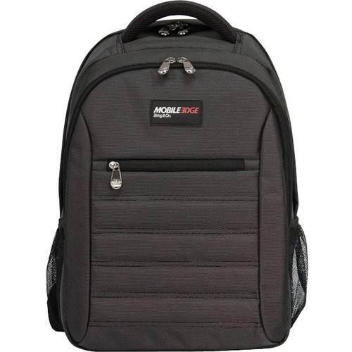 "Mobile Edge - SmartPack - 16""/17"" Mac - Charcoal. The SmartPack is a no-nonsense backpack for people who value a case which puts protection first. Ergonomically designed and lightweight, the SmartPack offers protection for your laptop and tablet and still"